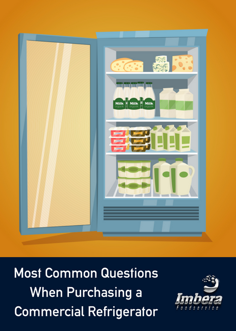 Most Commonly Asked Questions When Purchasing a Commercial Refrigerator