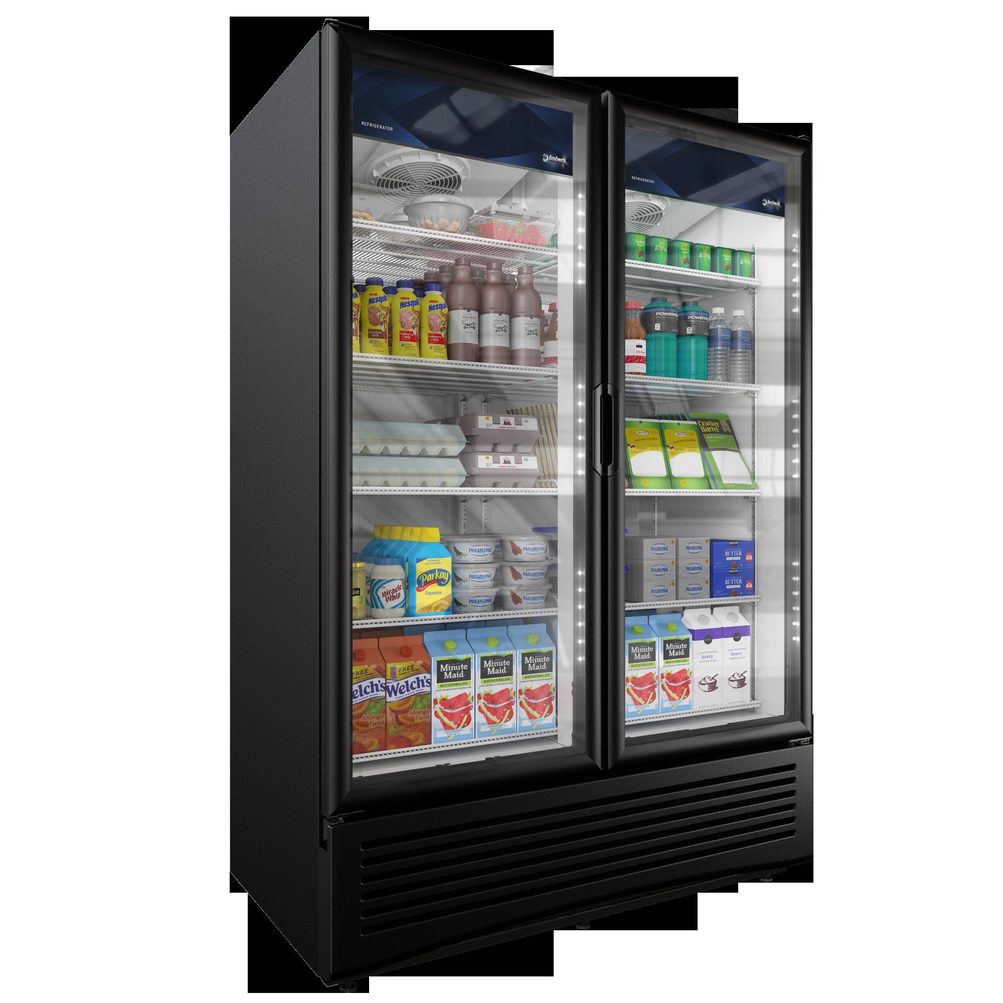 shop black cu with refrigerator door pin cecilware display countertop swing